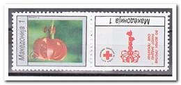 Macedonië 1994, Postfris MNH, Red Cross, Flowers - Macedonië