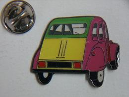 Pin's - Automobile 2 CV CITROEN - Citroën