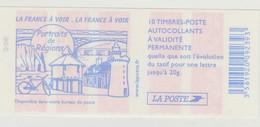 France Carnet N° 3744-C6 La France à Voir - Carnets