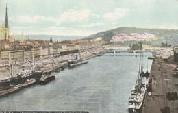 Dép. 76 - ROUEN. - Panorama Pris Du Pont Transbordeur. Aqua Photo L.V. Et Cie. - Rouen