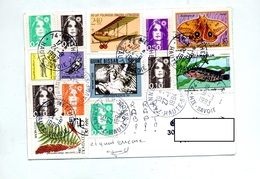 Carte Cachet Meythet Annecy  Montage Vue Mosquee - Poststempel (Briefe)