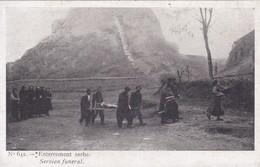 Europe > Serbie Enterrement Serbe Servian Funeral N° 642 - Servië