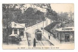 (20033-29) Brest - Gare Des Tramways Du Conquet - Rue De Brest - Brest