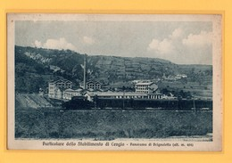 V73  CENGIO (PONZANO) - SAVONA  - STAZIONE - TRENO - FP  VIAGGIATA 1925/30 RARISSIMA - Savona