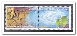 Griekenland 2001, Postfris MNH, Europe, Cept, Water - Griekenland