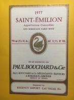 8256 - Saint-Emilion 1977 Paul Bouchard - Bordeaux