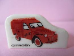 Fève Brillante Plate  - Véhicule - Citroën - Characters