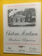 8257 - Château Martinon 1979 - Bordeaux