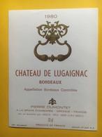 8263 - Château De Lugaignac 1980 - Bordeaux