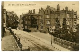LONDON : HARROW - MR GRAHAM'S HOUSE - London Suburbs