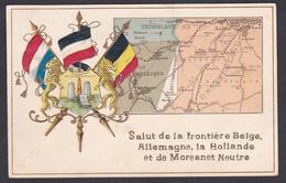 Moresnet Neutre, Embossed - Plombières