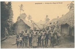 COMORES, ANJOUAN - Enfants Du Village De Dzindi - Comoros