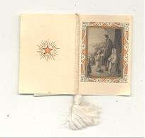 Calendrier - Mini Almanach De 1936 -  Image Pieuse, La Sainte Famille (mel2) - Calendriers