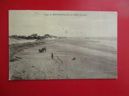 CPA 85 BRETIGNOLLES SUR MER PLAGE - Bretignolles Sur Mer