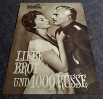 """Altes PFP-Filmprogramm - SOPHIA LOREN In """"Liebe, Brot Und 1000 Küsse"""" Mit Vittorio De Sica ... - 181158 - Magazines"""