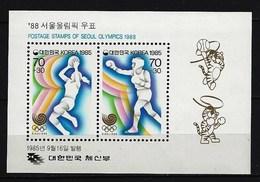 SÜDKOREA - Block Mi-Nr. 507 Olympische Sommerspiele 1988, Seoul Postfrisch - Korea (Süd-)