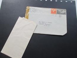 Zensurbeleg Kuba / Cuba 1943 Air Mail / Luftpost Nach Padroni Colorado. Censorship Mit Inhalt!! - Dominikanische Rep.