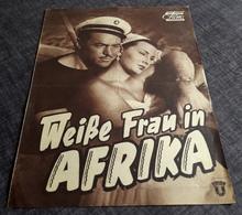 "Altes DNFP-Filmprogramm - SOPHIA LOREN In ""Weiße Frau In Afrika"" Mit Steve Barclay, Umberto Melnati ... - 181156 - Magazines"