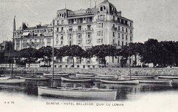 Genève - Hôtel Bellevue , Quai Du Léman . - GE Ginevra