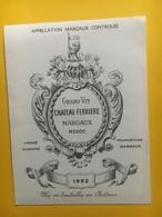 8294 - Château Ferrière 1952 Margaux - Bordeaux
