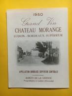 8297 - Château Morange 1950 Ludon - Bordeaux