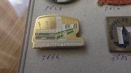 CALAIS ARDRES TRANSPORT BUS CAR - Badges