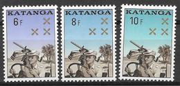 _3Rv-396:  N° 78/81 :  Zegels .X.X : Postfris - Katanga