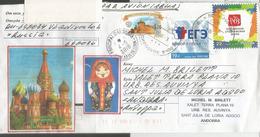 Belle Lettre De VLADIVOSTOK, Adressée En Andorre, Avec Timbre  à Date Arrivée - 1992-.... Federazione