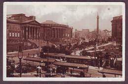 1933 Used Liverpool England Photo Postcard William Brown Street Liverpool The Haymarket Lancashire United Kingdom - Liverpool