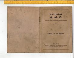 46680 GAZOGENE A.M.C.  Special Pour Grains De Charbon Maigre -  EMPLOI & ENTRETIEN - Máquinas