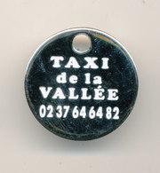 TAXI DE LA VALLEE - Trolley Token/Shopping Trolley Chip