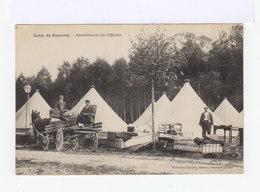 Camp De Sissonne Ameublement Des Officiers. Charrette Avec Cheval. Tentes. (2869) - Casernes