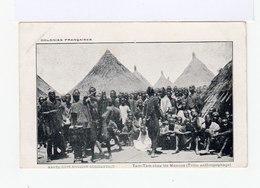 Colonies Françaises. Haute Côte D'Ivoire Occidentale. Tam Tam Chez Les Manons. (tribu Anthropophage). (2870) - Afrique