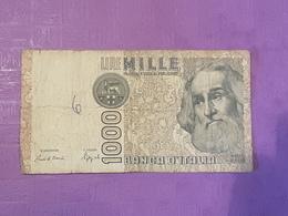 Italie 1000 Lire 1982 P109b Circulé - [ 2] 1946-… : Républic
