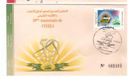 Maroc FDC Avec Timbre 1624 De 2011, 50ème Anniversaire De L'INSEA - Maroc (1956-...)