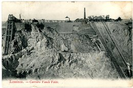 Lessines - Lessen. Carrière Vande Velde (Vandevelde). Steengroeve. Circulé En 1907. - Lessen