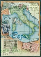 CENTENARIO UNITA' D'ITALIA-FRANCOBOLLI - Poste & Postini