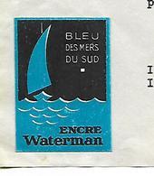 Facture Lettre Avec Vignette / 75 PARIS / 1939 / WATERMAN / JIF / Pub Encre Waterman - Stamperia & Cartoleria