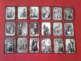 LOTE DE 18 CALENDARIOS DE BOLSILLO PAREJAS Y MATRIMONIOS INDIOS INDIANS MARRIAGES COUPLES CALENDARS CALENDAR 2011 INDIAN - Calendarios