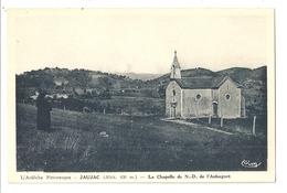 07 Jaujac, La Chapelle De Notre Dame De L'Aubagnet (2733) L300 - France