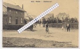"""HEIDE-CALMPTHOUT-KALMTHOUT""""STATIEBAREEL""""HOELEN 8632 UITGIFTE 03.02.1922 TYPE 6 - Kalmthout"""
