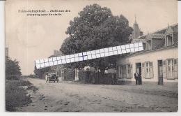 """HEIDE-CALMPTHOUT-KALMTHOUT""""ZICHT AAN DEN STEENWEG NAAR DE STATIE""""HOELEN 4436 UITGIFTE 02.08.1909 TYPE 5 - Kalmthout"""