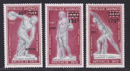 GABON AERIENS N°  134 à 136 ** MNH Neufs Sans Charnière, TB (D7272) Sports, Jeux Olympiques De Munich - Gabon