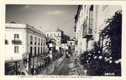 ABRANTES - Um Trecho Da Praça Da Republica - PORTUGAL - Santarem