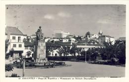 ABRANTES - Praça Da Republica E Monumento Ao Soldado Desconhecido - PORTUGAL - Santarem