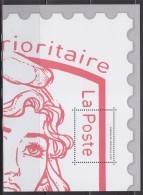 Bloc Gommé Neuf Marianne Et La Jeunesse Lettre Prioritaire Phil@poste Sans Valeur 1/4 Timbre Ciappa Kawena - Blocs & Feuillets