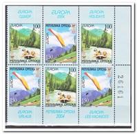 Servië 2004, Postfris MNH, Europe, Cept, Vacation - Servië