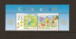 "KAZAKHSTAN/ KAZAJISTAN/ KASACHSTAN  -EUROPA  2007-"" A CENTENARY SCOUT -EUROPA-CEPT""- SERIE De 2 V. - 2007"
