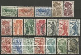 CAMEROUN N° 276 à 294 OBL TB - Cameroun (1915-1959)