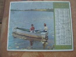 CALENDRIER DES PTT 1955 - Feuillets Avec Cartes & Horaires - Calendars